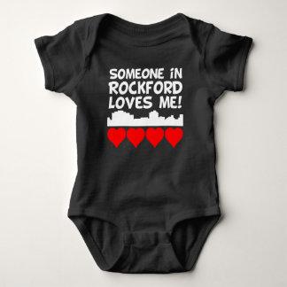 Body Para Bebê Alguém em Rockford Illinois ama-me