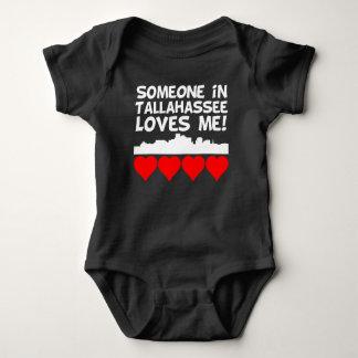 Body Para Bebê Alguém em Tallahassee Florida ama-me