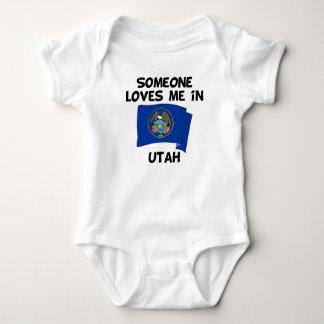 Body Para Bebê Alguém em Utá ama-me