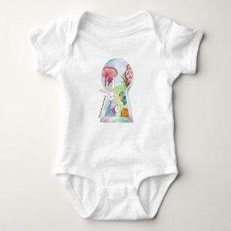 Body Para Bebê Alice no bebê do país das maravilhas