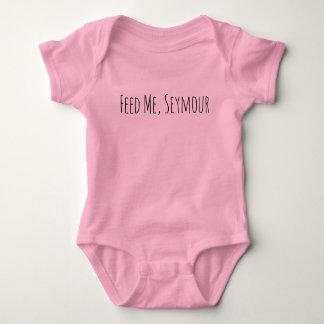 Body Para Bebê Alimente-me, Seymour