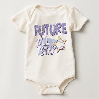 Body Para Bebê All Star futuro