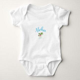 Body Para Bebê Aloha-Praias, férias havaianas legal