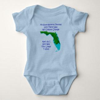 Body Para Bebê ALTERAÇÕES CLIMÁTICAS - bebê azul 3