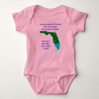Body Para Bebê ALTERAÇÕES CLIMÁTICAS - bebê cor-de-rosa 3