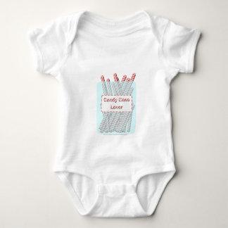 Body Para Bebê Amante do bastão de doces