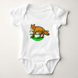 Body Para Bebê Amante do Fox