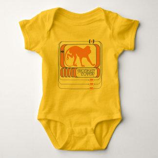 Body Para Bebê Amante do macaco