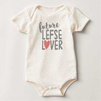 Body Para Bebê Amante futuro de Lefse