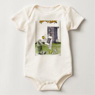 Body Para Bebê ame ascendentes ey de yorkshire ', trabalhos um