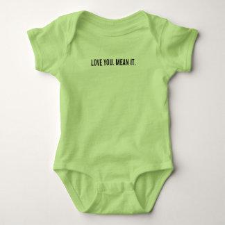 Body Para Bebê AME-O. MEIO ELE. Bebê de uma peça só