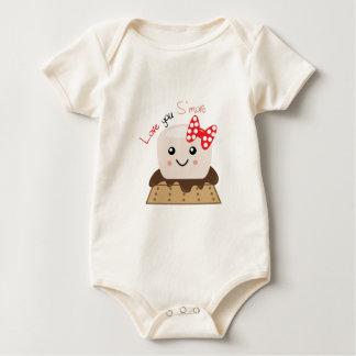 Body Para Bebê Ame-o Smore