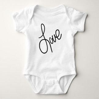 Body Para Bebê Ame pequeno
