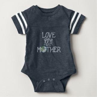 Body Para Bebê Ame seu dia de Mãe Terra