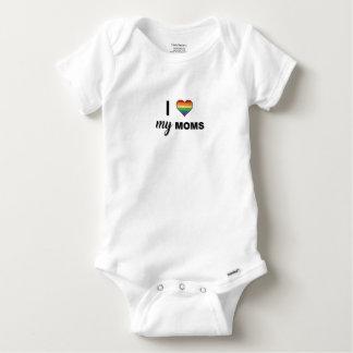 Body Para Bebê Ame suas mães