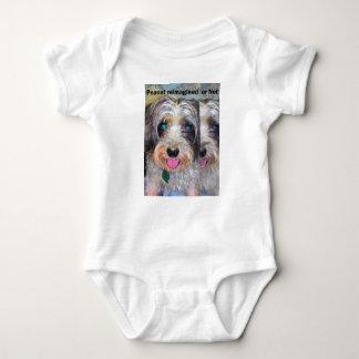 Body Para Bebê amendoim o cão do salvamento