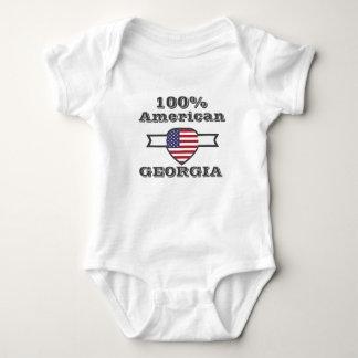 Body Para Bebê Americano de 100%, Geórgia