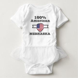 Body Para Bebê Americano de 100%, Nebraska