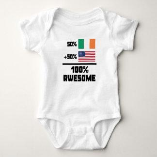 Body Para Bebê Americano do irlandês 50% de 50% 100%