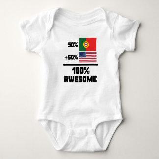 Body Para Bebê Americano do português 50% de 50% 100%