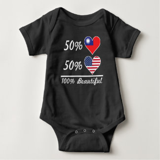 Body Para Bebê Americano do taiwanês 50% de 50% 100% bonito
