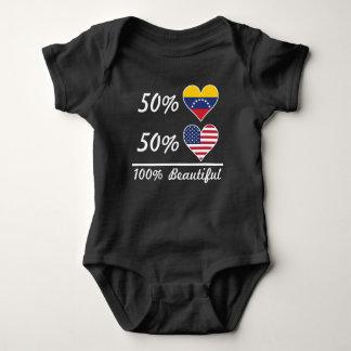 Body Para Bebê Americano do venezuelano 50% de 50% 100% bonito