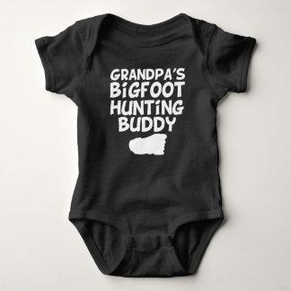 Body Para Bebê Amigo da caça do Bigfoot do vovô