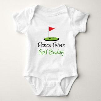 Body Para Bebê Amigo do golfe da papá