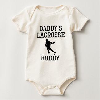 Body Para Bebê Amigo do Lacrosse do pai