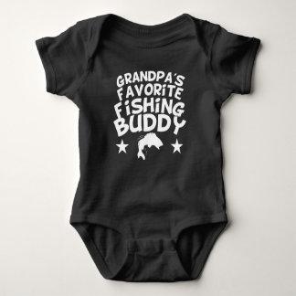 Body Para Bebê Amigo favorito da pesca do vovô