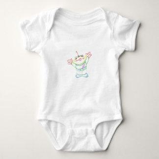 Body Para Bebê Amigo feliz do amigo
