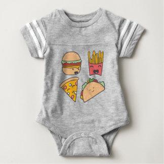 Body Para Bebê amigos do fast food