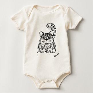 Body Para Bebê Amigos improváveis gato e rato