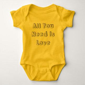 Body Para Bebê Amor