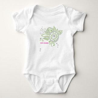 Body Para Bebê Amor da flor do Henna que tira sempre