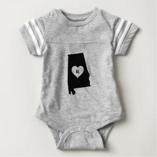 Body Para Bebê Amor de Alabama