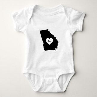 Body Para Bebê Amor de Geórgia