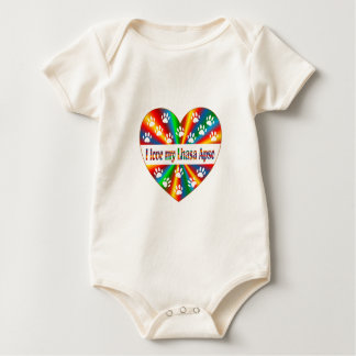 Body Para Bebê Amor de Lhasa Apso