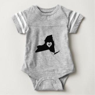Body Para Bebê Amor de New York