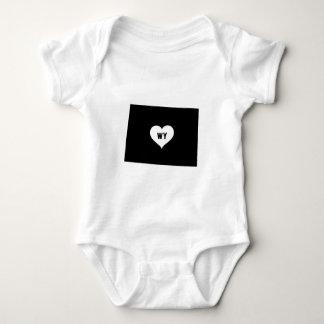 Body Para Bebê Amor de Wyoming