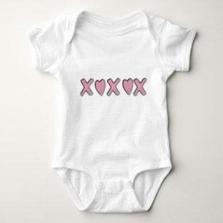 Body Para Bebê Amor e beijos
