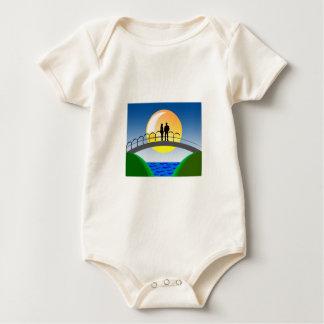 Body Para Bebê amor e casais