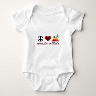 Body Para Bebê amor e destin da paz