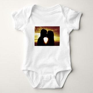 Body Para Bebê Amor e verão