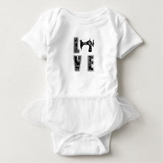 Body Para Bebê amor para sewing