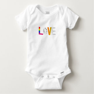 Body Para Bebê Amor universal