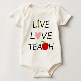 Body Para Bebê amor vivo teach2