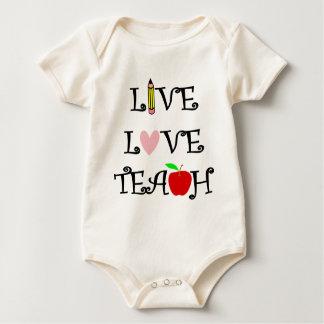 Body Para Bebê amor vivo teach3