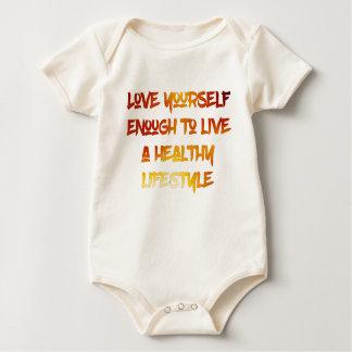 Body Para Bebê Amor você mesmo bastante
