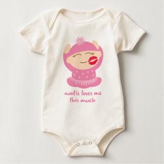 Body Para Bebê Amores do Auntie
